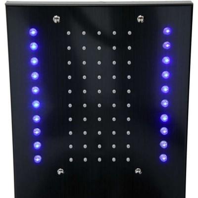 Хидромасажен панел Fala Steely 3 black titanium