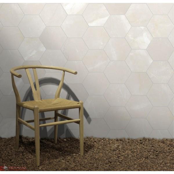 Гранитогрес Hehagonal25  Pulpis 22x25