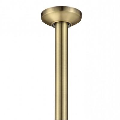 Рамо за вграден душ от таван ICH2121BR старо злато