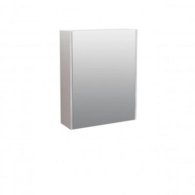 Шкаф за баня огледален Касерта 50см бял 1 врата