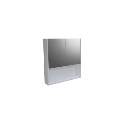 Шкаф за баня огледален Иберис 60см бял 2 врати