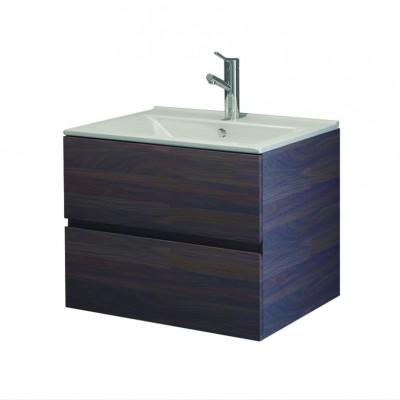 Шкаф за баня висящ Line 65см цветен 2 чекмеджета
