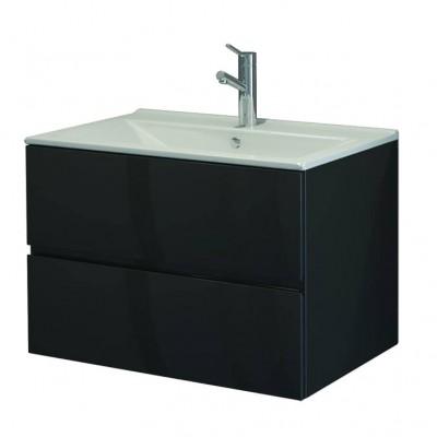 Шкаф за баня висящ Line 75см цветен 2 чекмеджета