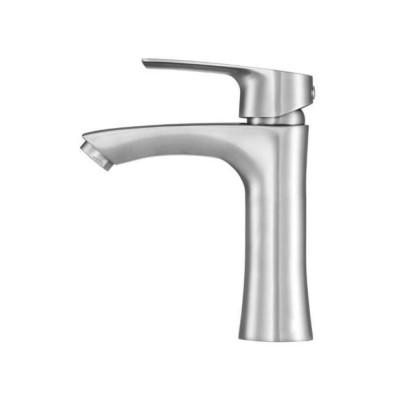 Смесител за мивка Steely 3 Fala хром мат 75803