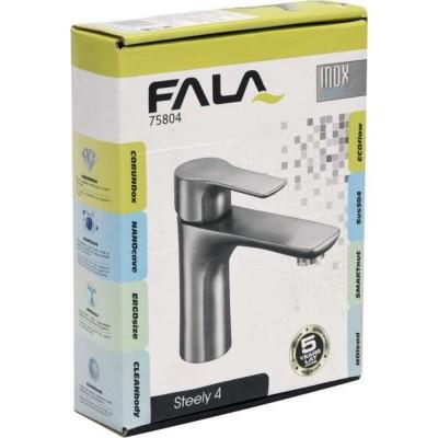 Смесител за мивка Steely 4 Fala хром мат 75804