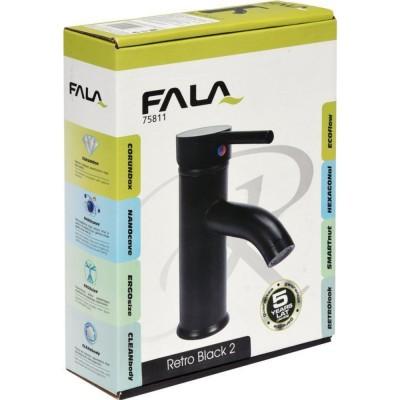 Смесител за мивка Fala Retro Black 2 75811 черен мат