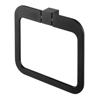 Хавлийник праноъгълен Futura черен мат 71102969