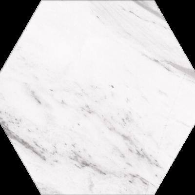 Гранитогрес Hehagonal25  Carrara 22x25