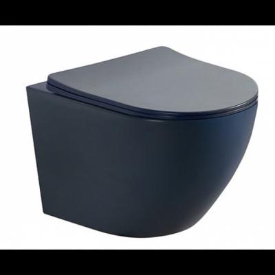 Стенна тоалетна чиния ICC 4937B черен мат