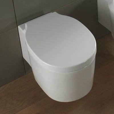 Тоалетна Чиния Висяща Bucket 8812 / 8814B Седалка Плавно Бяла