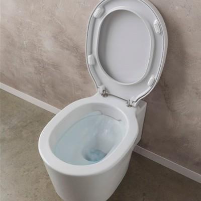 Тоалетна Чиния Висяща Bucket 8812/8814В Плавно Падане Бяла