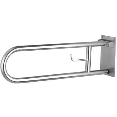Държач за инвалиди подвижен с държач за тоалетна хартия 75/24см 287008к