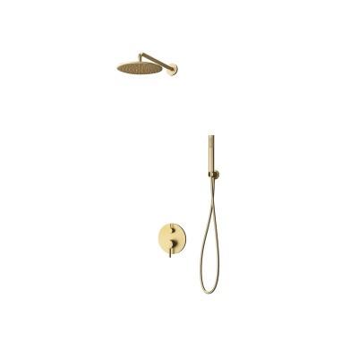 Душ комплект за вграждане  Artemis  SO510 златен