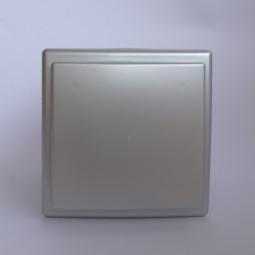 Вентилатор ф100 квадратен с клапа инокс 46.30лв