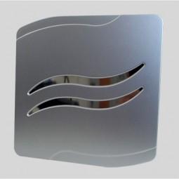 Вентилатор mm-p квадратен с клапа сив 8381 53.71лв