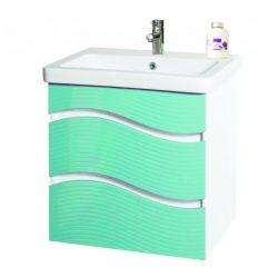 Шкаф за баня Галакси син 600 мм